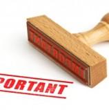 URBANISME – Report demandes d'autorisations