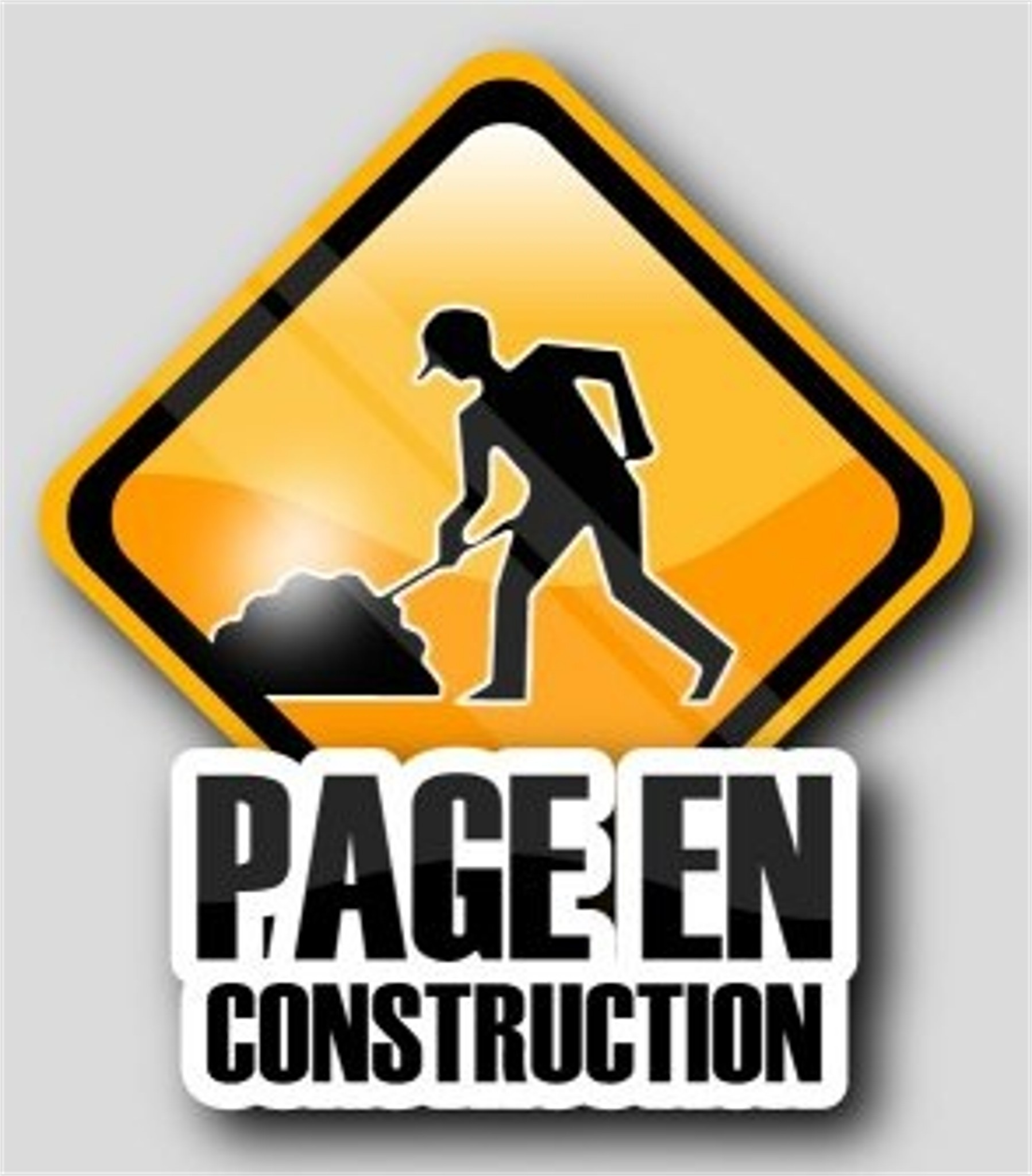 Logo page en construction