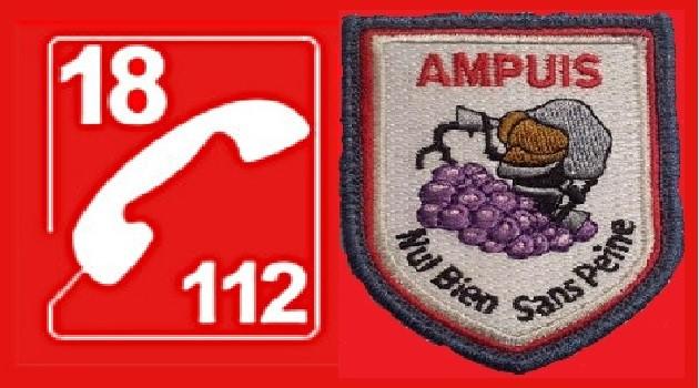 Calendrier 2021 des pompiers d'Ampuis