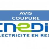 Coupure d'électricité en raison de travaux le 7 juin