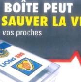 Lions Club SOS – Une boite dans votre réfrigérateur pour vous sauver la vie