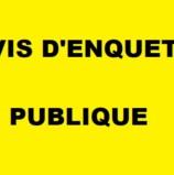 Enquête publique  relative à la révision du SCOT des rives du Rhône